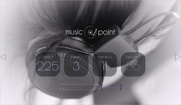 Music PowerPoint PHP Template