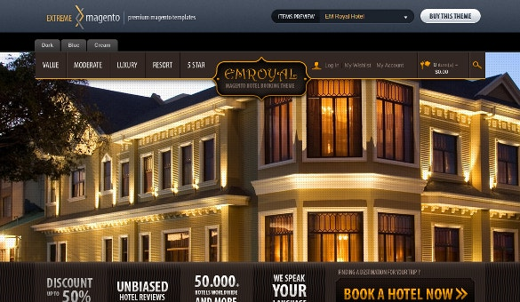 Royal Hotel Magento Theme