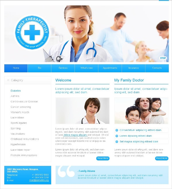 Health Medical Progres Swish Template