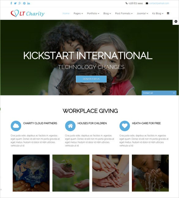 admirable non profit joomla theme 29