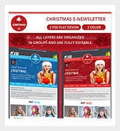 Christmas-Email-Newsletter-Photoshop