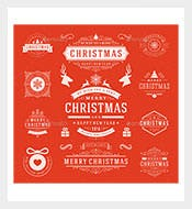 Christmas-Labels-and-Badges-Photoshop