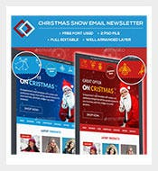 Christmas-Snow-Email-Newsletter-Photoshop