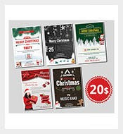 Elegant-Christmas-Flyers-Bundle