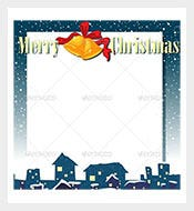 Empty-Christmas-Invitation-Card-Template