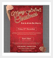 1110 christmas templates free premium templates free size christmas poster template pronofoot35fo Image collections