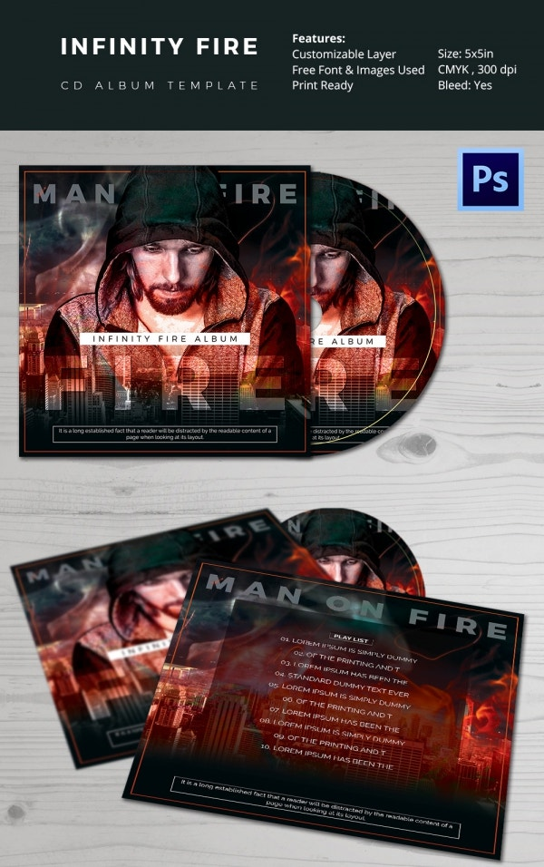 Album Cover Template 51 Free PSD Format Download – Photo Album Templates Free