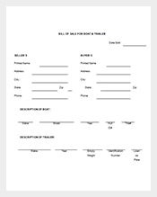 free-boat-trailer-bill-of-sale-template