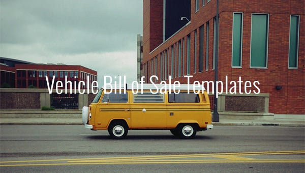 vehiclebillofsaletemplates