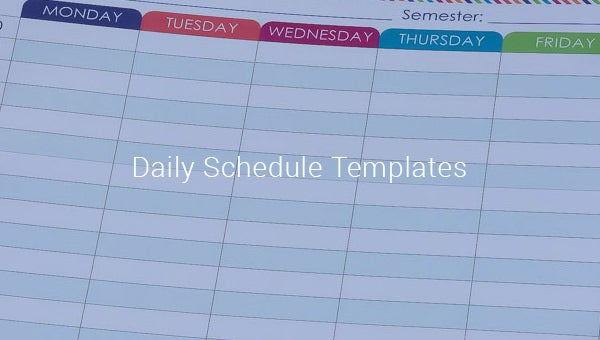 dailyscheduletemplates