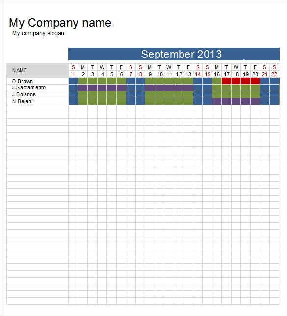 schedule template 39 free word excel pdf format download free premium templates. Black Bedroom Furniture Sets. Home Design Ideas