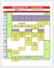 Free-Fitness-Class-Schedule-Template-PDF-Download