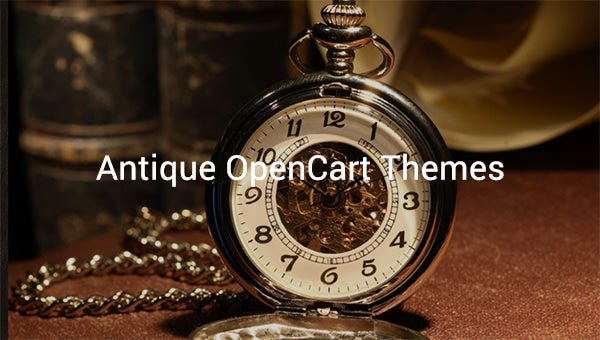 antique opencart themes