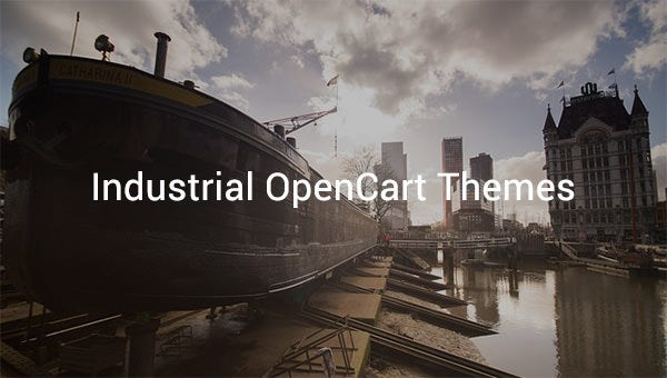 industrial opencart themes