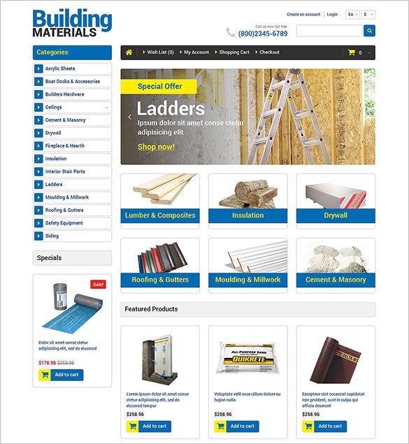 10+ Maintenance Services OpenCart Themes & Templates | Free ...