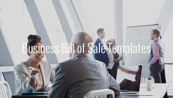 businessbillofsaletemplates
