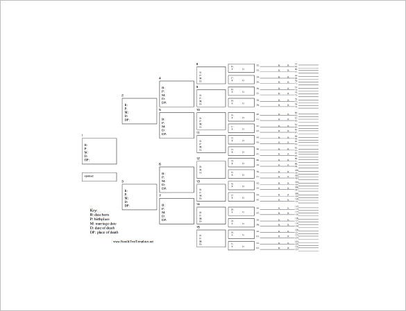 Large Family Tree Template – 13+ Free Sample, Example, Format