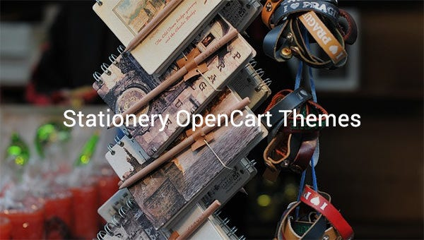 stationery opencart themes