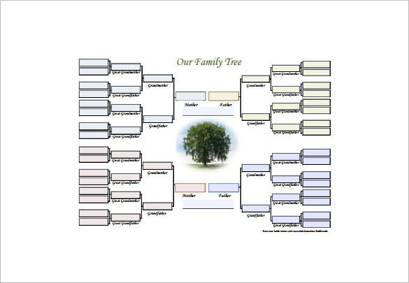 editable family tree diagram free pdf download