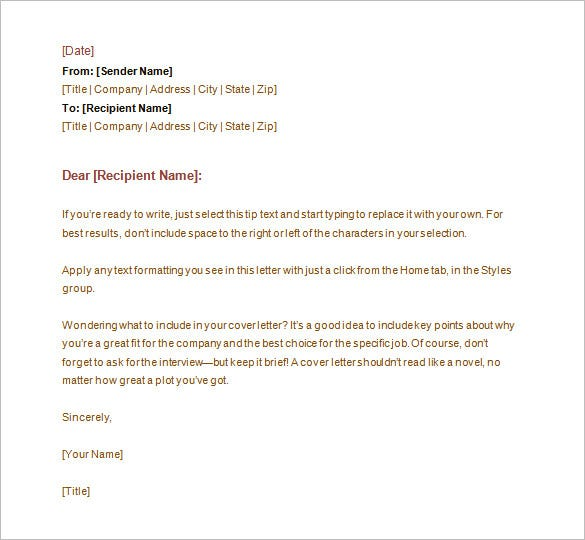 Formal letter format re cheaphphosting Gallery