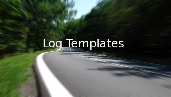 logtemplates