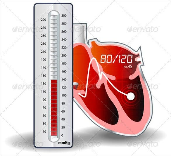Blood Pressure Chart Template   Free Excel Pdf Word Documents