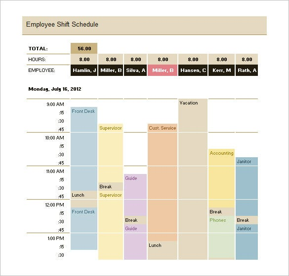 Production Schedule Templates Free Sample Example Format - Production calendar template