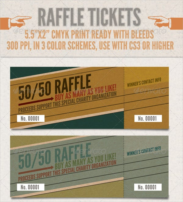raffle ticket template3