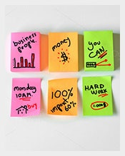 Example-of-a-Sticky-Note-Template-Download