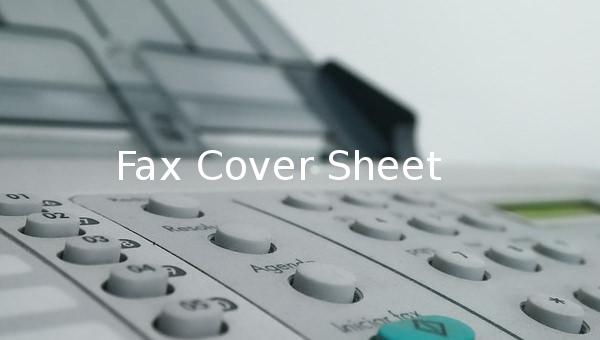 faxcoversheet