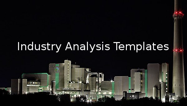 industry analysis templates