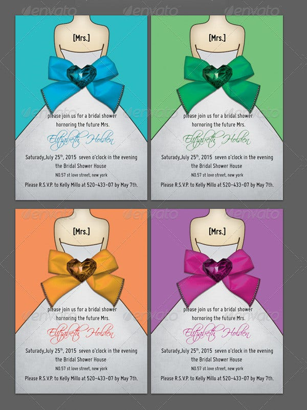 bridal-shower-template-bowknot