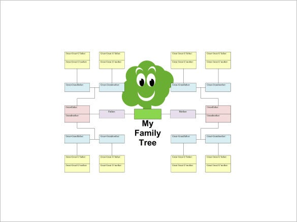5 generation kid family tree pdf free download