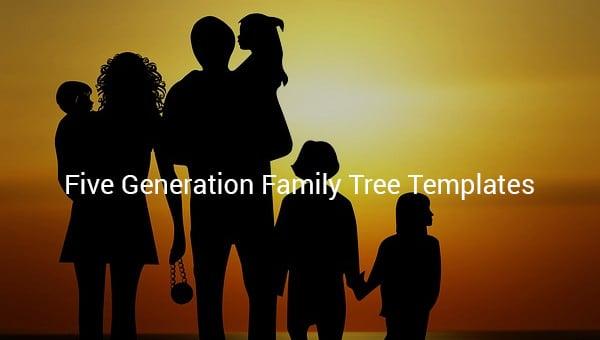 fivegenerationfamilytreetemplate