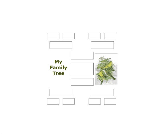 4 generation family tree pdf free download