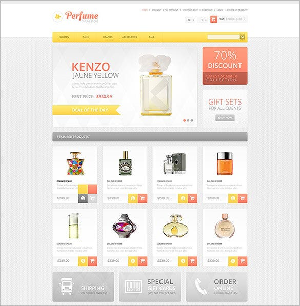 4 cosmetic store oscommerce themes amp templates free premium rh template net osCommerce Software Adult osCommerce Templates