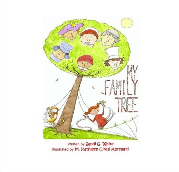 my family tree book template download