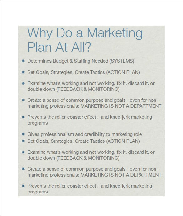 marketing plan presentation free download