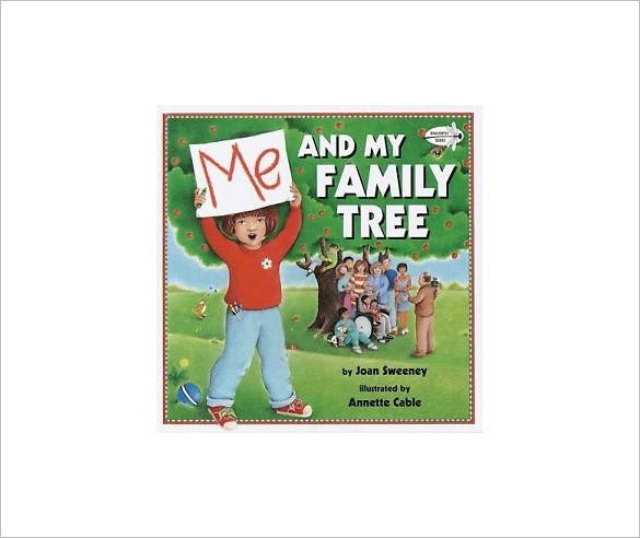 me and my family tree book template download
