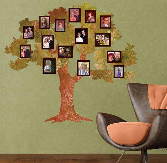 family tree template for kids download