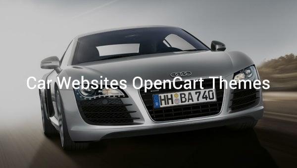 car websites opencart themes
