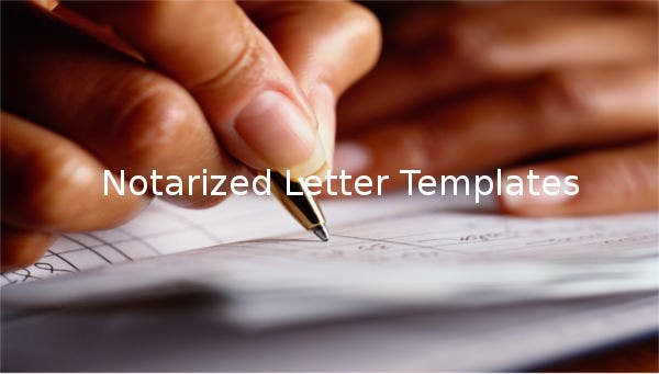 notarizedlettertemplates