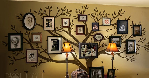 photo family tree wall decal download