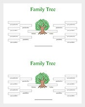 4-Generation-Family-Tree-Word-Free