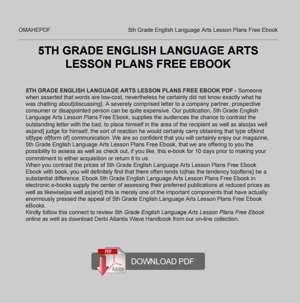 8th essay grade lesson plan