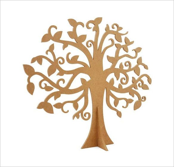 kaisercraft large family tree sample template
