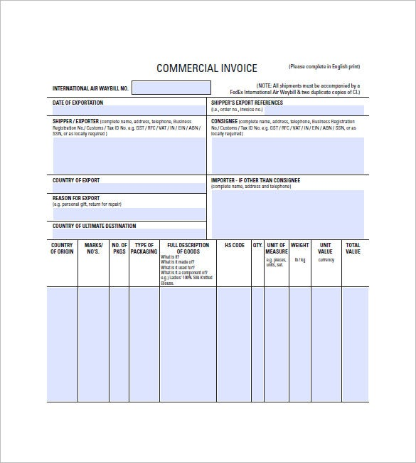 rent invoice template free  Lease Invoice Templates – 14  Free Word, Excel, PDF Format Download ...