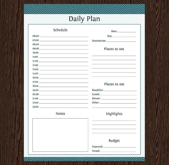 7 Travel Schedule Template Pdf Word Free Amp Premium Templates