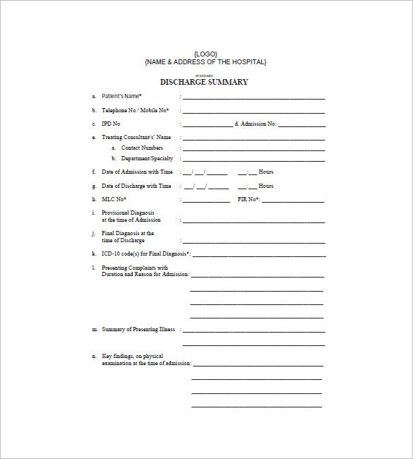 medical bill format in pdf