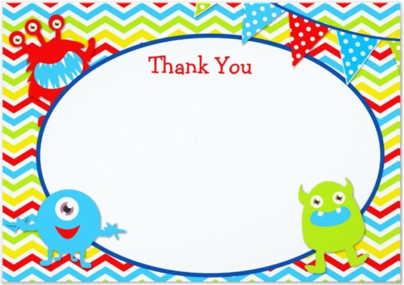 Thank You Notes   Free Printable Word Excel Psd Eps Format